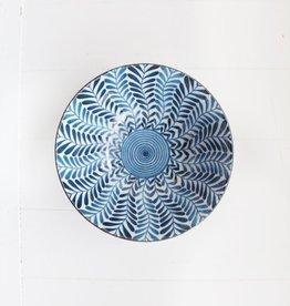 Bowl - Blue Fern