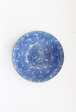 Bowl - Blue Fan