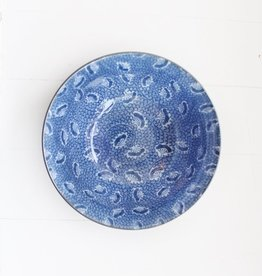 Bowl - Blue Fan