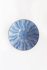 Bowl - Blue Deep Fern