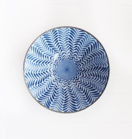 Bowl - Blue Deep Fern