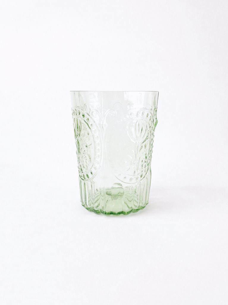 Water Glass Green