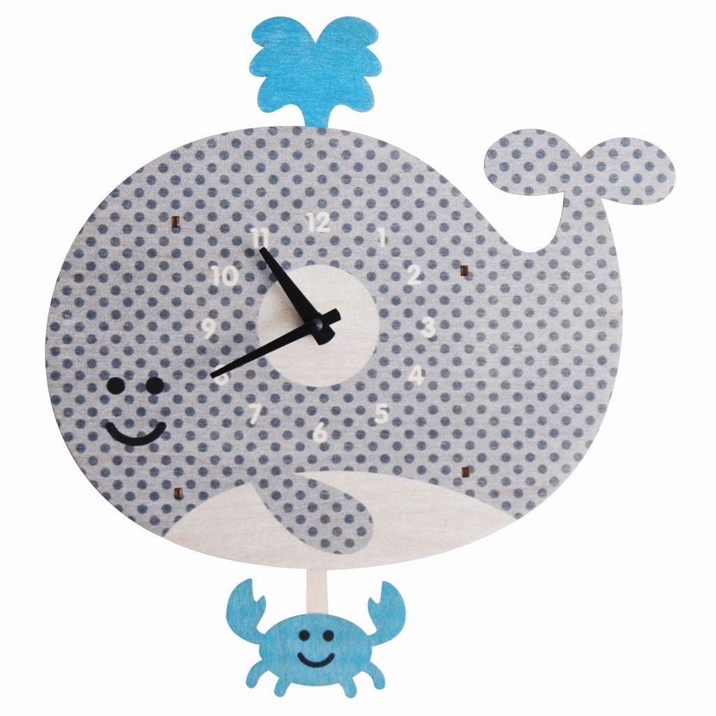 Pendulum Clock - Whale