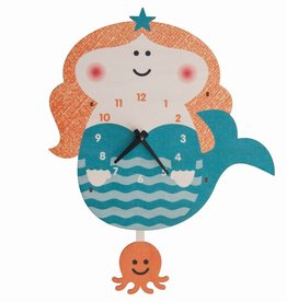 Pendulum Clock -Mermaid