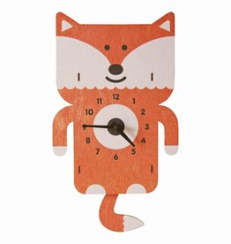 Pendulum Clock - Fox