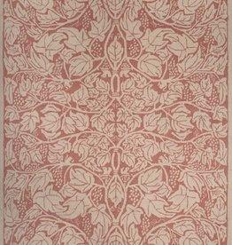 Fox & Vine Coral Wool Hooked Rug