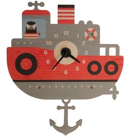 Pendulum Clock - Tugboat