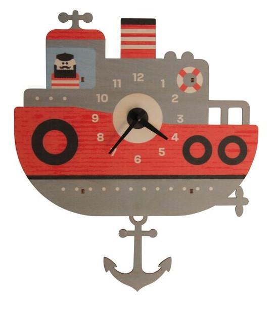 Pendulum Clock - Tug Boat