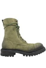 Del Carlo DelCarlo Olive Nubuck Combat Boot 6040