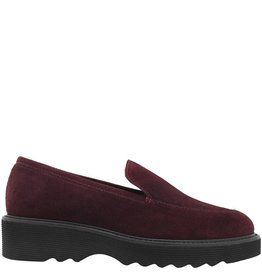 Aquatalia Aquatalia Oxblood Suede Waterproof Loafer Kelsey