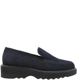 Aquatalia Aquatalia Navy Suede Waterproof Loafer Kelsey