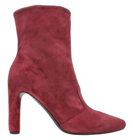 Del Carlo DelCarlo Raspberry Suede High Heel Ankle Boot 6440