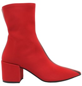 Elena Iachi ElenaIachi Red Stripe Stretch Boot 1798