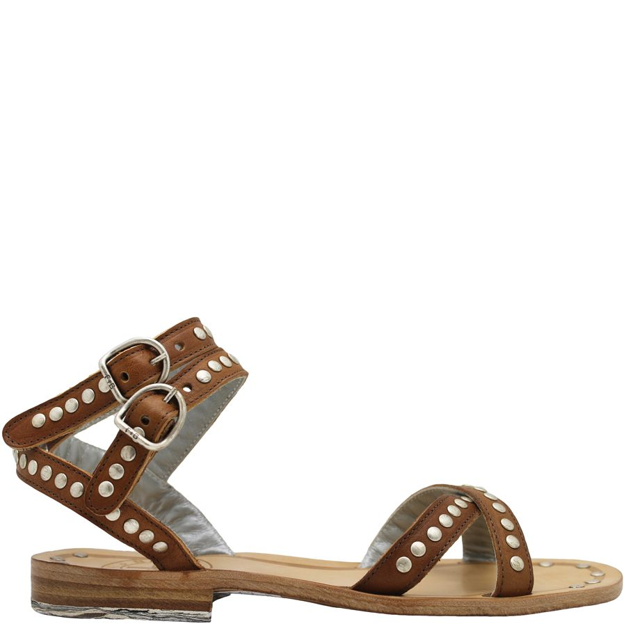 Fiorentini+Baker Fiorentini+Baker Camel Stud Ankle Strap Sandal Finny