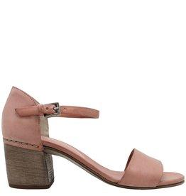 Del Carlo DelCarlo Rose Buckled Block Heel Sandal 5060