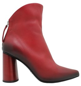 Halmanera Halmanera Red Nappa Fold Top High Heel Boot Anjee