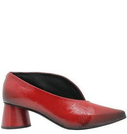 Halmanera Halmanera Red Patent Medium Heel Pump Arora