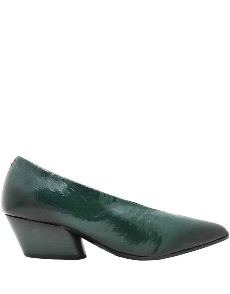 Halmanera Halmanera Green Patent Point Toe Pump Luna