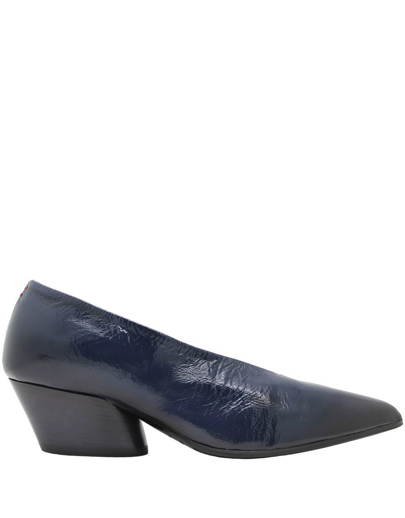 Halmanera Halmanera Blue Patent Point Toe Pump Luna