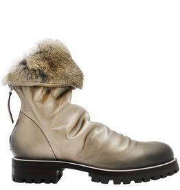 Halmanera Halmanera Platinum Fold Down Boot With Fur Nia