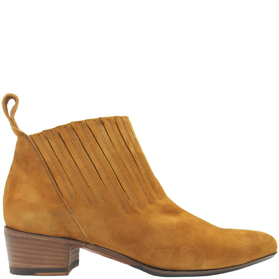 Ink Ink Camel Suede Pull-on Boot 4341
