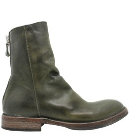 Moma Moma Green Mid-Calf Boot With Back Zipper 8581