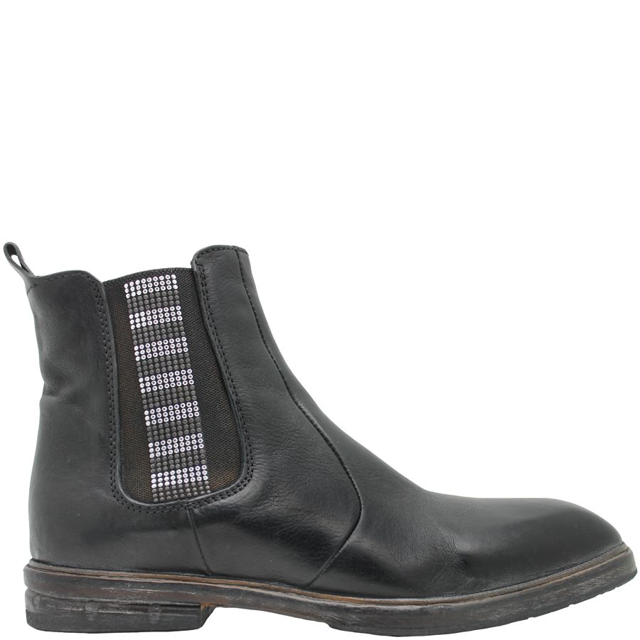 Moma Moma Black Chelsea With Studs 8588