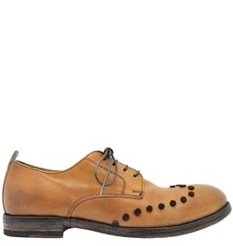 Moma Moma Camel Oxford With Velvet Dot Detail 8660