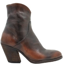 Officine Creative OfficineCreative Tobacco Rub Off Side Zipper Boot Dacia