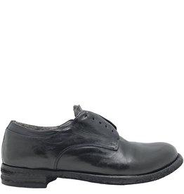 Officine Creative OfficineCreative Navy No Lace Fur Lined Shoe Sano