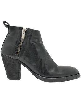 Officine Creative OfficineCreative Black Double Zipper Boot Taija