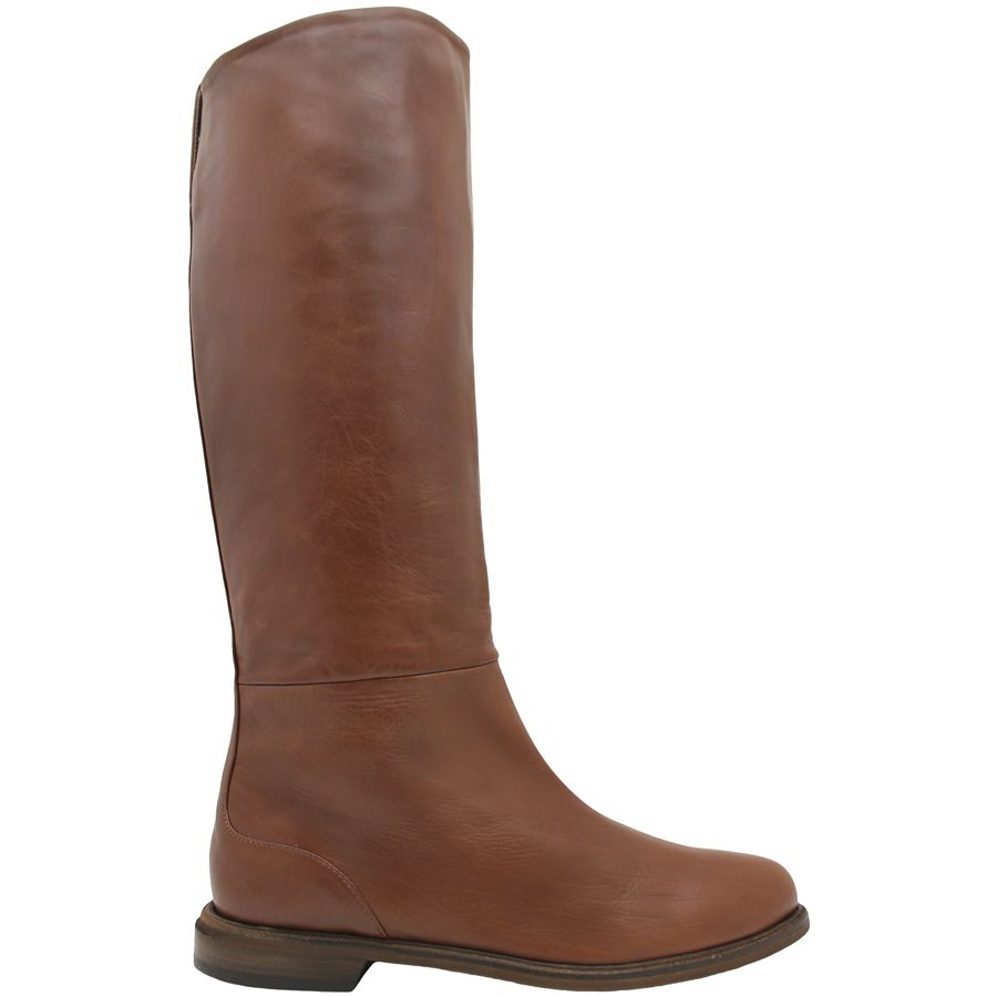 VicMatie VicMatie Camel Pull On Riding Boot 6776