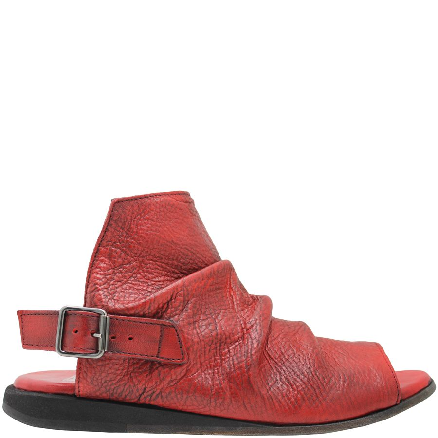 Moma Moma Red Buckled Comfort Sling 9036