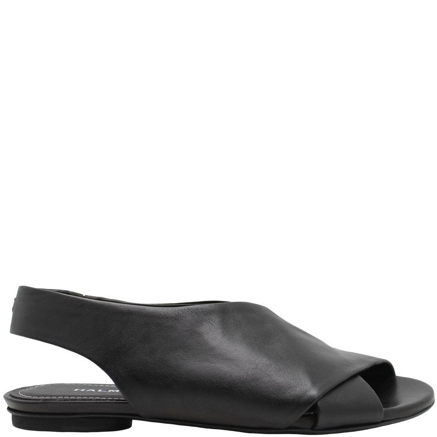 608d23ce890b Halmanera Black Criss Cross Sling Back Sandal 1940 - Head Start Shoes