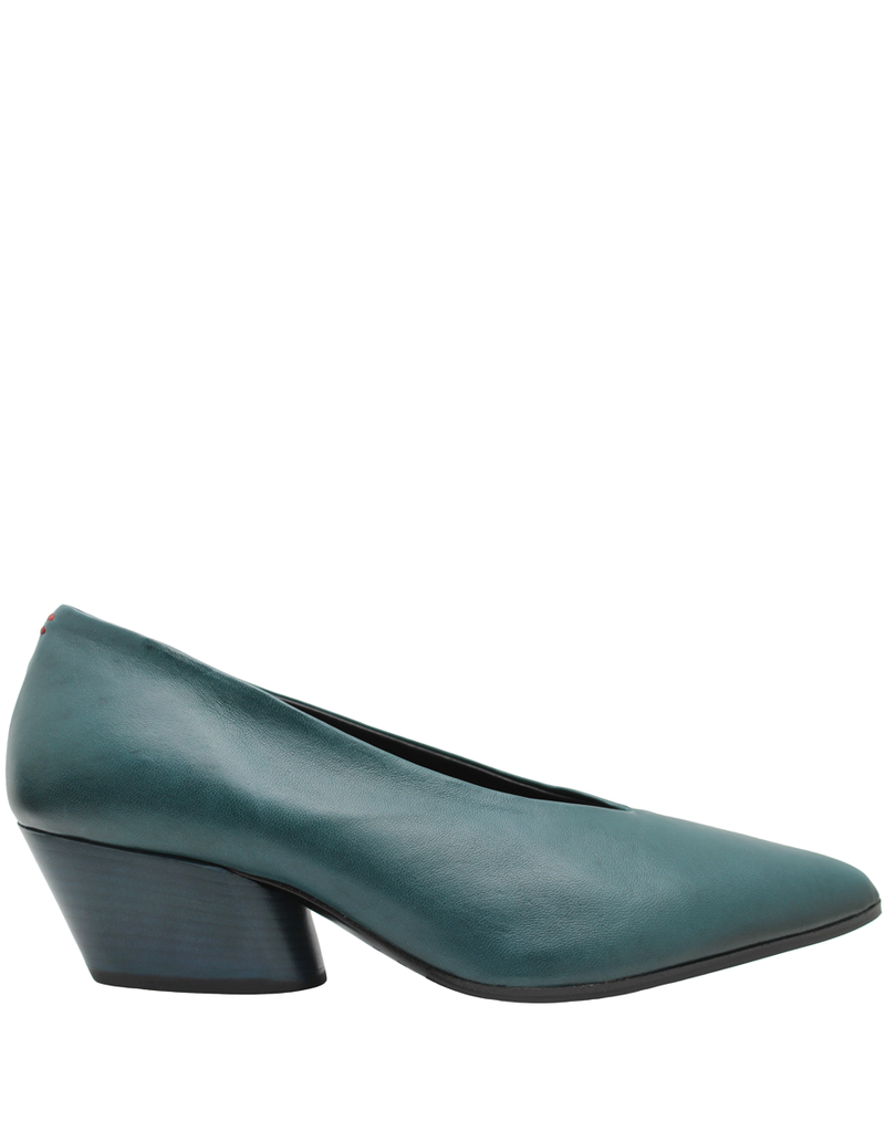 Halmanera Halmanera Blue Green Point Toe Pump Luna