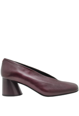 Halmanera Halmanera Bordo Asymmetric Toe With Cone Heel 1984