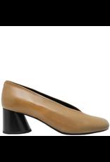 Halmanera Halmanera Camel Asymmetric Toe With Cone Heel 1984