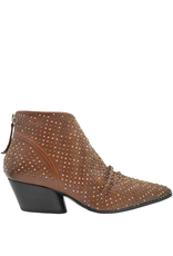 Halmanera Halmanera Camel Back Zipper Boot With Multi Studs Kaite