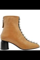 Halmanera Halmanera Camel With Row of Silver Detail Boot Manya