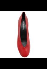 Halmanera Halmanera Red Calf Pump Round Low Heel 1950