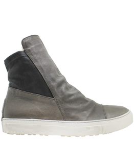 Fiorentini+Baker Fiorentini+Baker Taupe Side Zip High-Top Bret-Fur