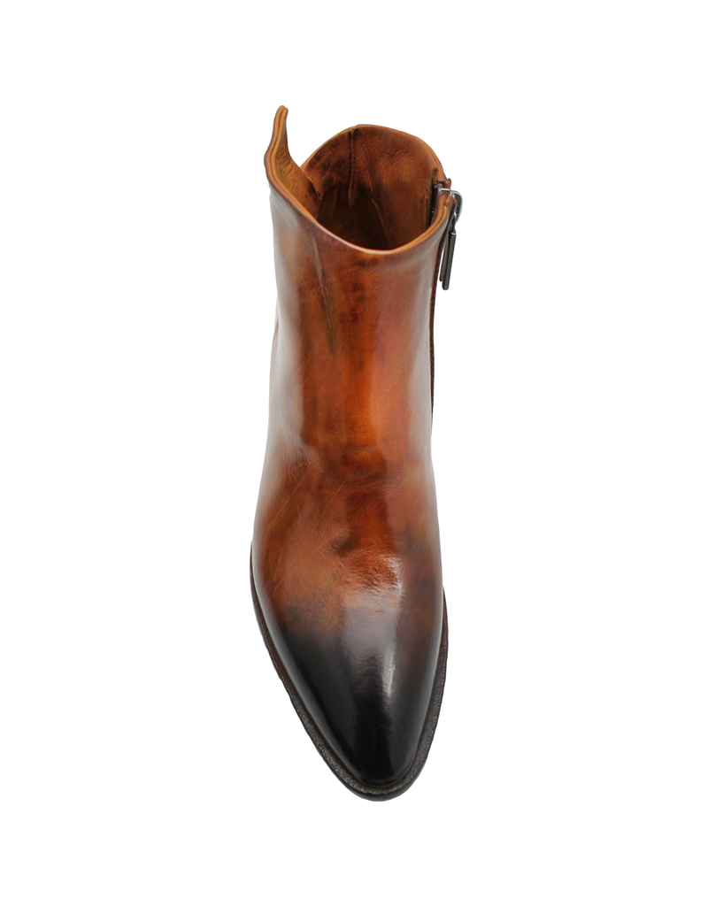 LeMargo LeMargo Cognac Burnished Toe Dress Boot 2294