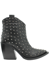 Now Now Black Nappa Stud Western 5769