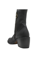 Fiorentini+Baker Fiorenini+Baker Black Stretch Top Knee Boot With Half Zipper Rudy