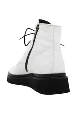 Now Now Gesso Lace-Up Crepe Sole Ankle Boot 5682