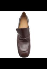 MaraBini MaraBini  Bordo Square Toe Loafer With Medium Heel 7404