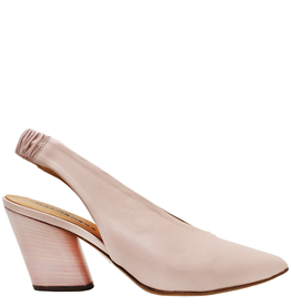 Halmanera Halmanera Peony Sling Back With Matching Heel Point Toe 2009