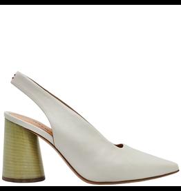 Halmanera Halmanera Dove Point Toe Sling Back With Mint Heel 2010