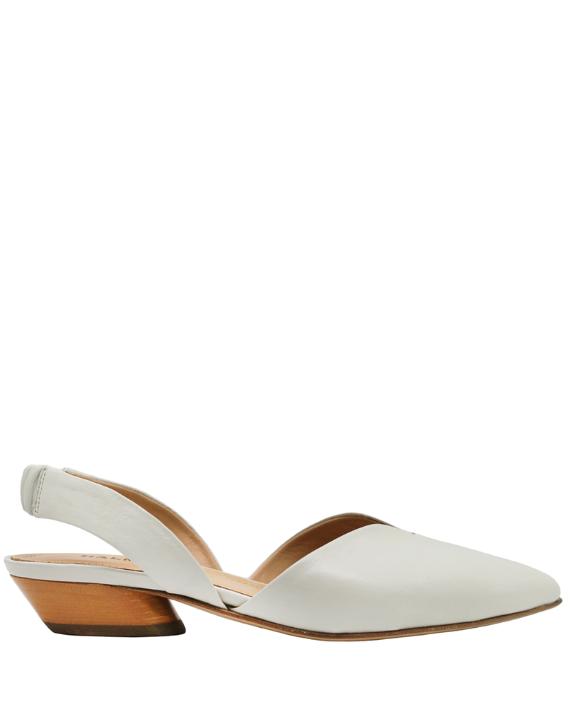 Halmanera Halmanera Dove Sling Back With Coral Heel Point Toe 2011