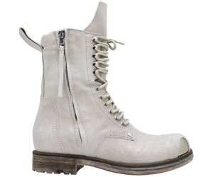Now Now Off White 2 Zipper Metal Toe